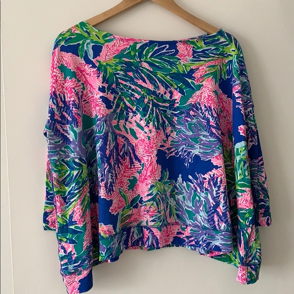 Lilly Pulitzer Tops - Summer Lily Pulitzer shirt